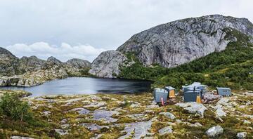 Doğa yürüyüşcülerine özel dağ kulübeleri