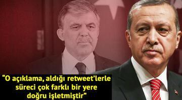 Cumhurbaşkanı Erdoğandan Abdullah Güle sitem