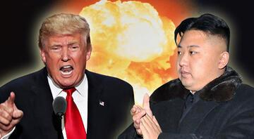 'Benim nükleer düğmem seninkinden büyük'