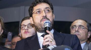 Son dakika: Murat Hazinedar belediye önünde konuştu