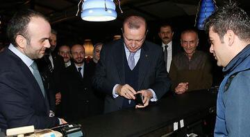 Erdoğandan ünlü çorbacıya ziyaret