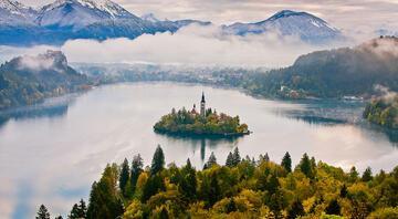 Yeşil rota Slovenya'nın masal kasabası: Bled