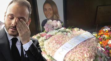 Mina Başaranın nişanlısı mezarlığa gitti, bu çiçeği bıraktı