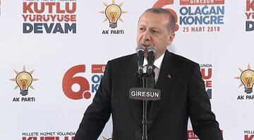 Cumhurbaşkanı Erdoğandan Cumhur İttifakı için önemli mesaj