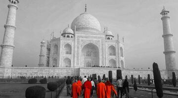 Aşkın en güzel simgesi: Tac Mahal