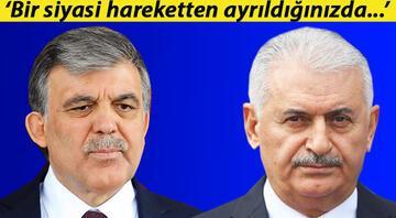 Başbakan Yıldırımdan Abdullah Gül açıklaması