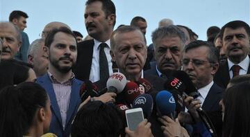Cumhurbaşkanı Erdoğan Suruçtaki olayın nasıl gerçekleştiğini anlattı