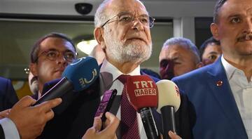 Saadet Partisi Genel Başkanı Karamollaoğlundan ilk açıklama