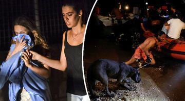 Yunanistanda yangın felaketi Çok sayıda ölü