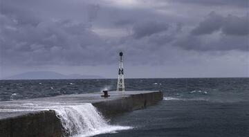 Tropik fırtınanın hızı, saatte 120 kilometreye ulaşacak... En çok İzmirde etkili olması bekleniyor