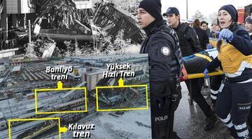 Ankarada Yüksek Hızlı Tren kazası: Ölü ve yaralılar var