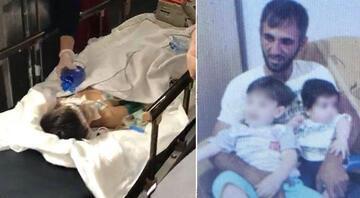 6 yaşındaki oğlunu komalık eden cani baba tutuklandı