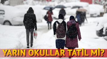 Ankarada okullar tatil olacak mı