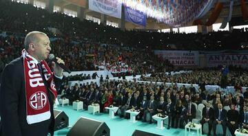 Cumhurbaşkanı Erdoğandan Antalyada önemli mesajlar