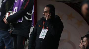 Hasan Şaş kulübede telefonla konuşurken görüntülendi