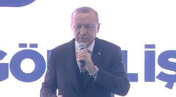 Cumhurbaşkanı Erdoğan: Halde müfettişleri dövmeye kalktılar