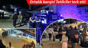 Uludağda cinayet Jandarma 17 kişiyi gözaltına aldı