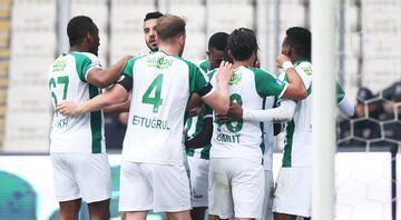 Bursaspor, son dakika golüyle kazandı