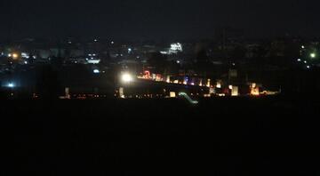 ABD konvoyu Nusaybinden görüntülendi
