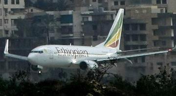 Etiyopya devlet televizyonu duyurdu: Düşen uçakta sağ kalan yok