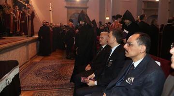 Binali Yıldırım, Mesrob Mutafyanın cenaze törenine katıldı