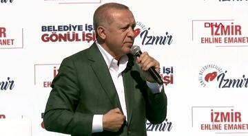 Cumhurbaşkanı Erdoğandan ortak mitingde çarpıcı sözler