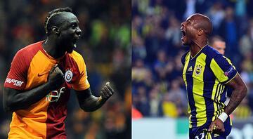 Galatasarayda en golcü Diagne, Fenerbahçe'de ise Ayew