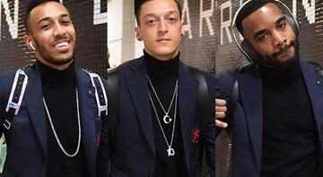 Arsenal kazandı, Mesut yine olay oldu