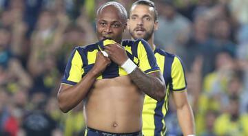 Fenerbahçede ayrılık; Andre Ayew