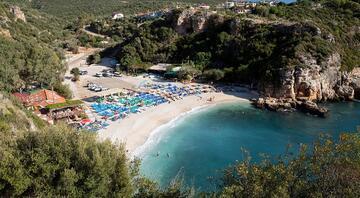 Türkiye'nin cennet köşesi Deniz, kum ve güneş üçlüsü burada bir başka güzel...