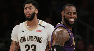 NBAde yılın takası Anthony Davis Lakersa...