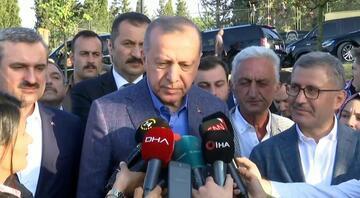 Mursinin vefatının ardından Erdoğandan ilk sözler