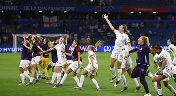 FIFA Kadınlar Dünya Kupasında İngiltere yarı finalde
