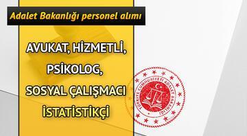 Adalet Bakanlığı Psikolog ve Sosyal Çalışmacı 276 personel alımı yapıyor