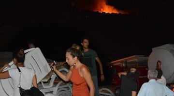 Datçadaki yangında sabotaj şüphesi...