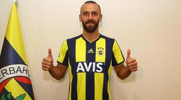 Vedat Muriç, formayı giydi İşte Kosovalı golcünün ilk sözleri