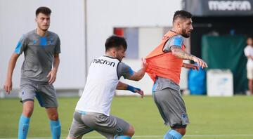 Trabzonspor, 8 eksikle çalıştı