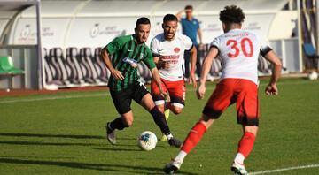 Denizlispor - Ümraniyespor maçında 4 gol