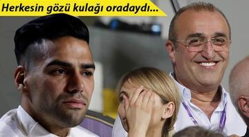 Galatasaray maçında dikkat çeken görüntü Falcao...