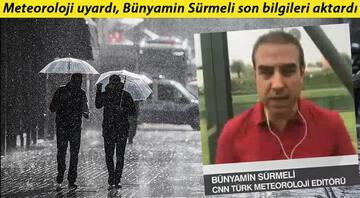 Marmarada kuvvetli yağış, Karadenizde sel riski...