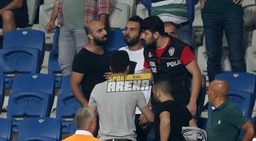 Arda Turanın kardeşi olay çıkardı Fenerbahçenin golünden sonra...