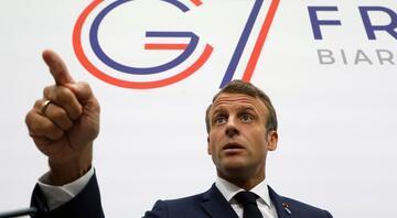 Fransa Cumhurbaşkanı Emmanuel Macrondan G7 açıklaması