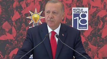 Cumhurbaşkanı Erdoğan: Bunların hepsi birer projedir unutmayın