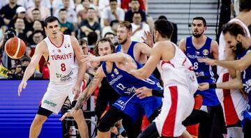 A Milli Basketbol Takımı son 16ya kalamadı