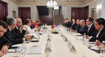 ABD Ticaret Bakanı Ross, özel sektör temsilcileriyle buluştu