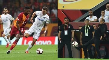 Galatasarayda 6 isim Kasımpaşa maçında yok