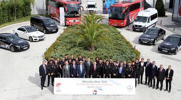 TFF ile Mercedes Benz Türk arasındaki ana sponsorluk sözleşmesi uzatıldı