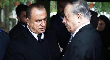 Galatasarayda Mustafa Cengiz ve Fatih Terimden 2 saatlik zirve