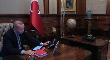 Son dakika... İşte Cumhurbaşkanı Erdoğanın harekatın emrini verdiği an