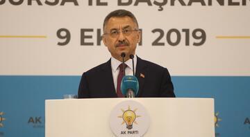 Cumhurbaşkanı Yardımcısı Oktay: Suriye topraklarını Barış Pınarıyla sulamakta kararlıyız